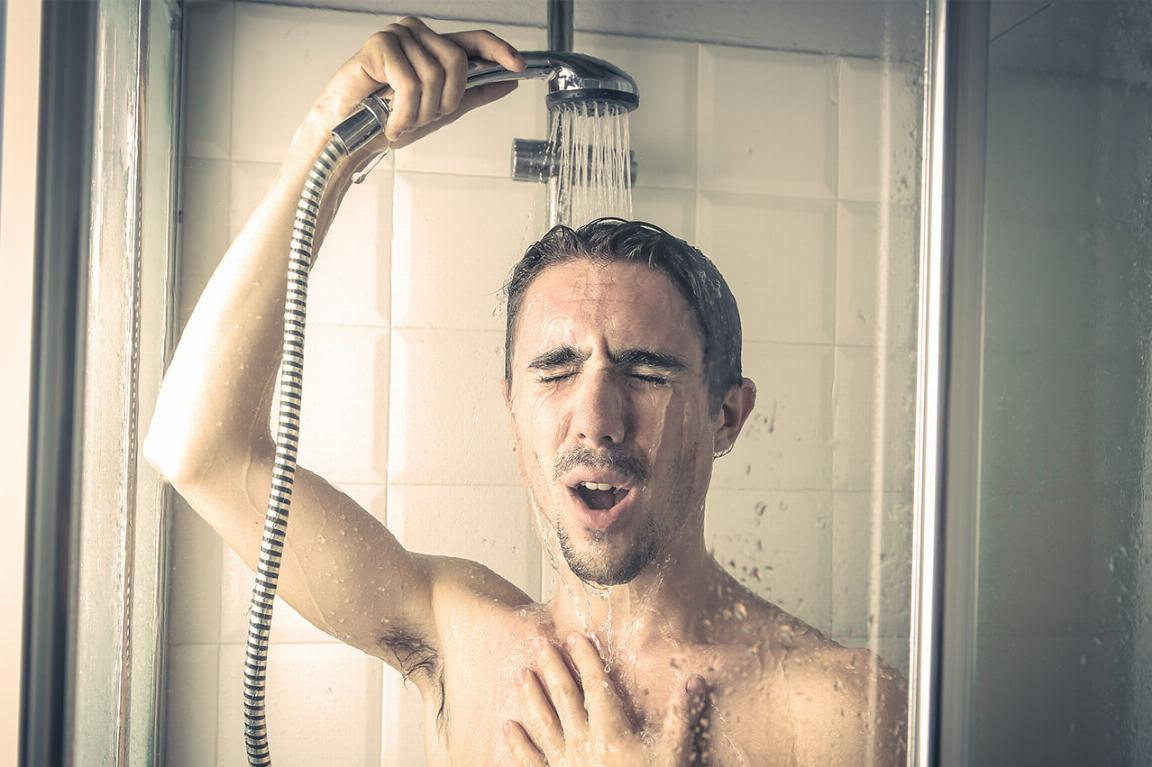 cold showers low hot water pressure