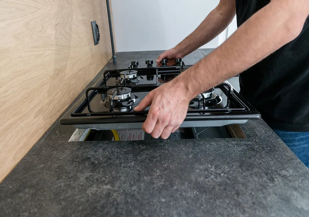 gas cooktop installation Gold Coast